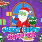 Crazy Santa Cookies