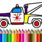 BTS Truck Coloring Book