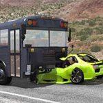 Bus Crash Stunts Demolition