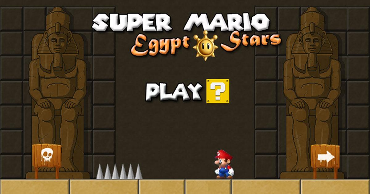 Super Mario Egypt Stars