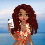 Tropical and Rosehip Princesses Sew Swimwear