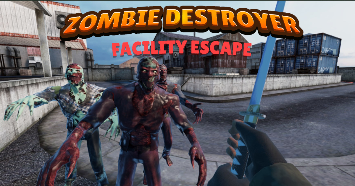 Image Zombie Destroyer: Facility escape