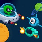 Space Infinite Shooter zombies