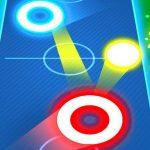 Air Hockey Glow: 2 Players
