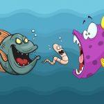 Angry Fish Coloring