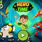 BEN 10 HERO TIME