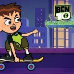 Ben 10 Skateboarding