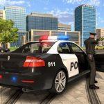 Cartoon Police Car Slide