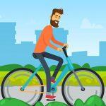 Family Bike Ride In Park Match 3