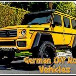 German Off Road Vehicles