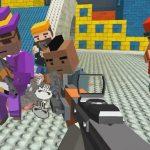 GunGame shooting warfare: blocky combat