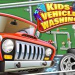Kids Car Wash Garage for Boys