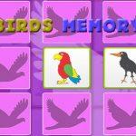 Kids Memory Game – Birds