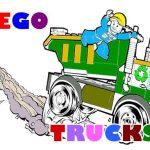 Lego Trucks Coloring