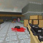 Pixel Apocalypse Shooting Zombie blocky combat