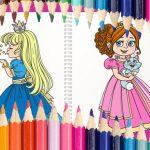 Princess Coloring Book