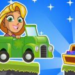 Princess Rapunzel Car Racing Adventure