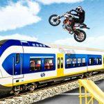 Ramp Bike Stunt