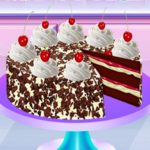 Real Black Forest Cake Cooking