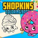Shopkins Coloring Book