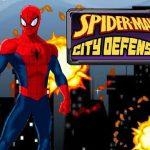 Spiderman City Defense
