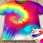 Tie Dying Cloths 3D