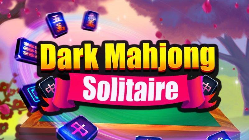 Image Dark Mahjong Solitaire